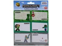 12626 - Samolepky Minecraft 18 ks